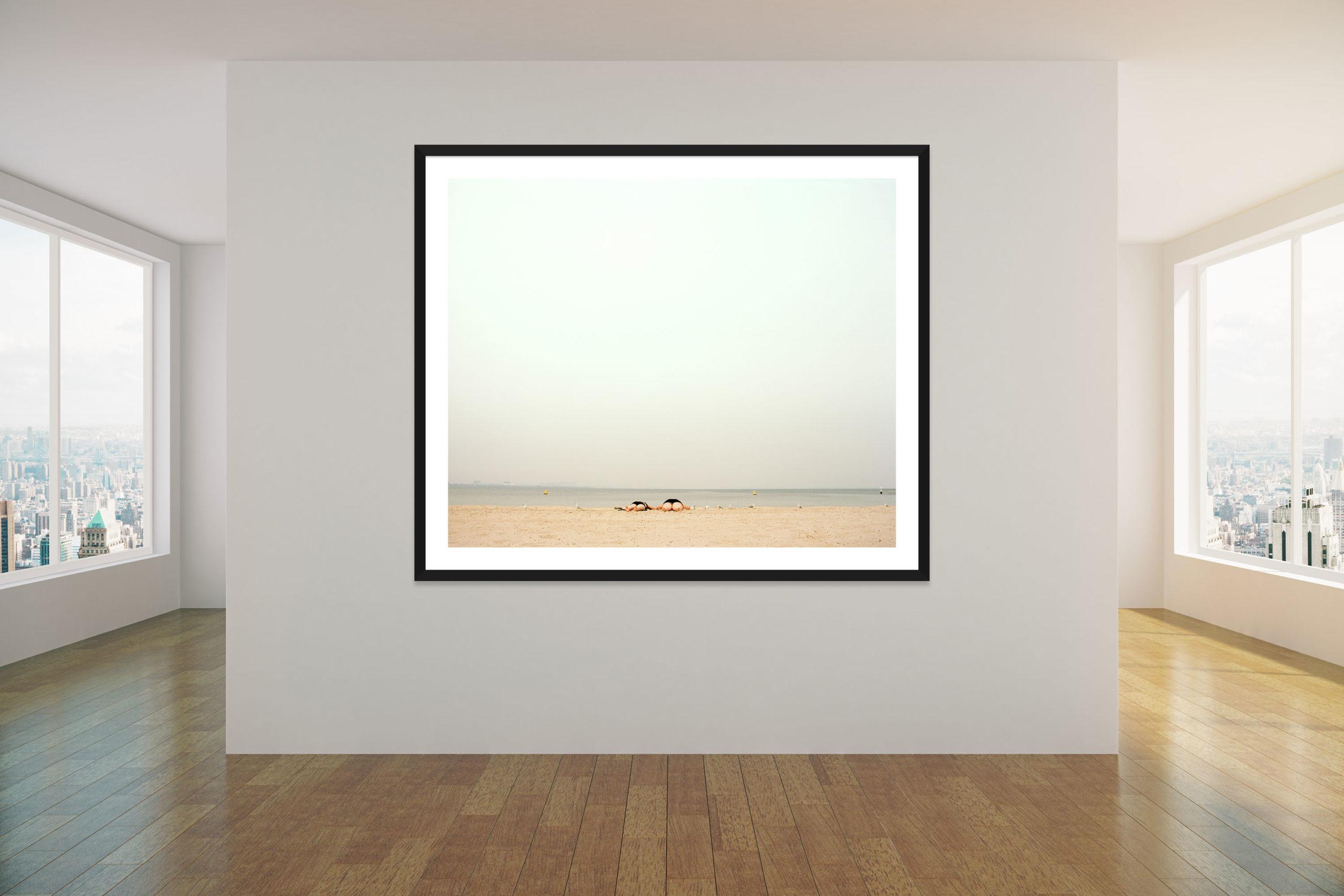 Legs - Black Frame - Concrete Collection - Fine Art Photography by Toby Dixon