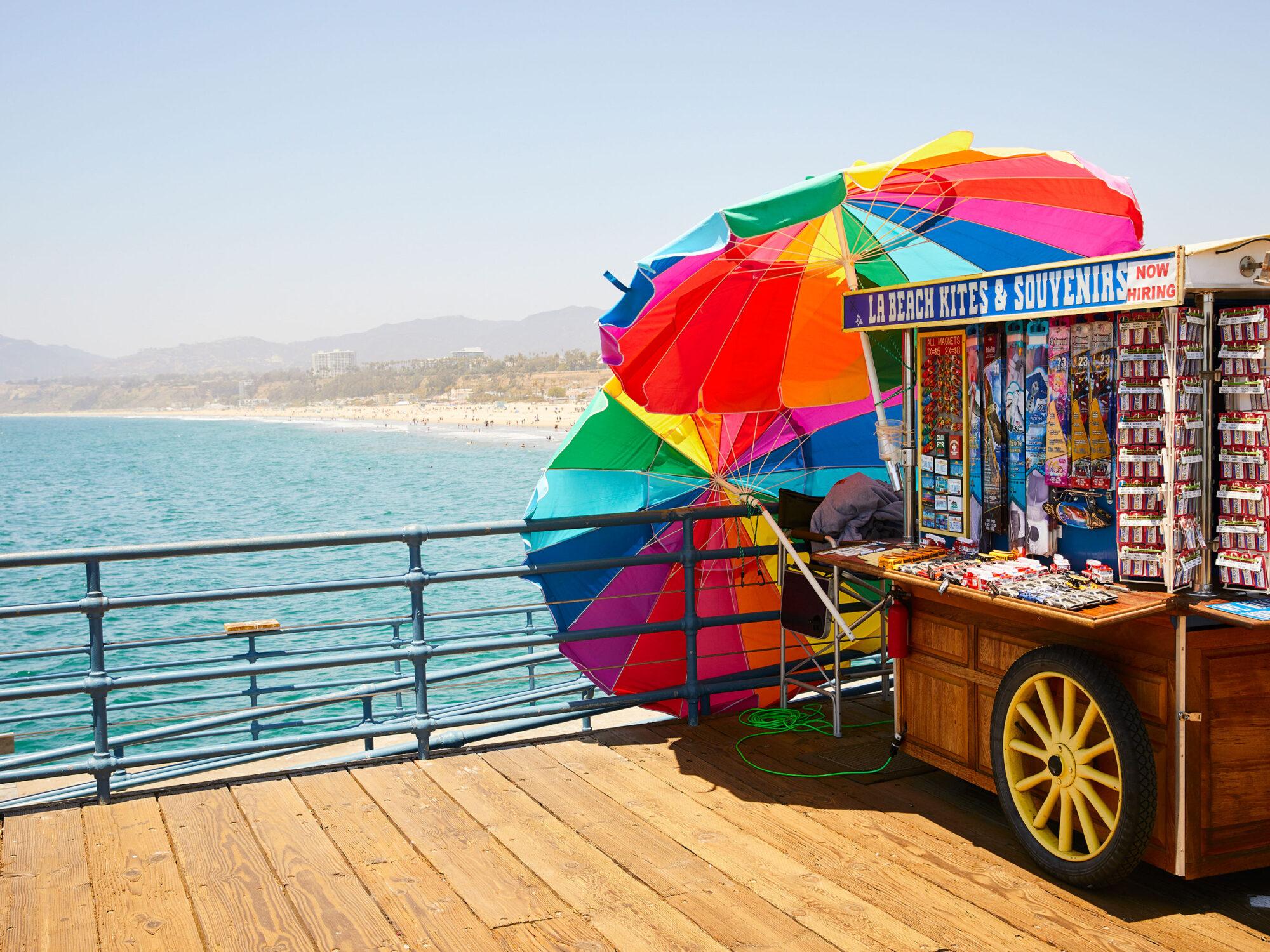 Santa Monica Pier 4 - Carnival Collection - Fine Art Photography by Toby Dixon